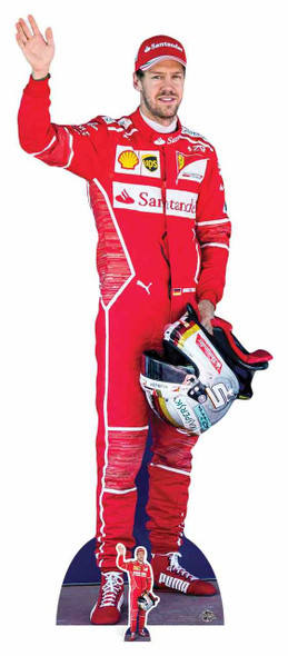 Sebastian Vettel Formula One Racing Driver Cardboard Cutout / Standee