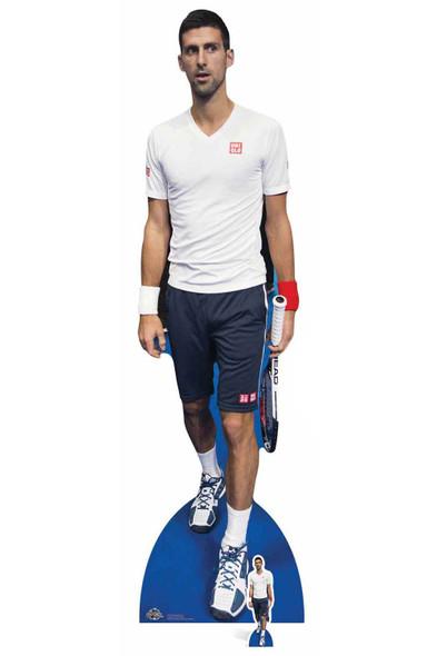 Novak Djokovic Cardboard Cutout / Standee