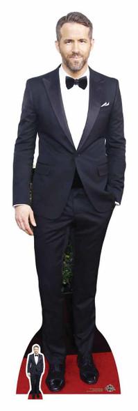 Ryan Reynolds in Tuxedo Cardboard Cutout