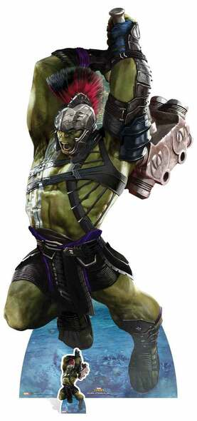 Hulk from Thor: Ragnarok Official Marvel Lifesize Cardboard Cutout