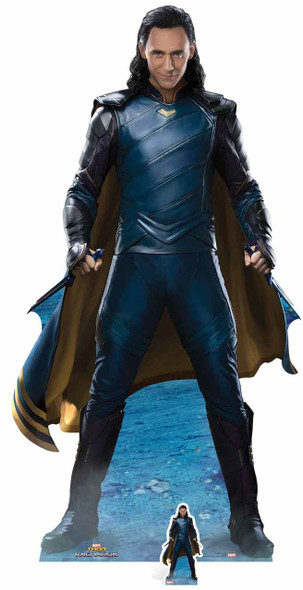 Loki from Thor: Ragnarok Official Marvel Lifesize Cardboard Cutout