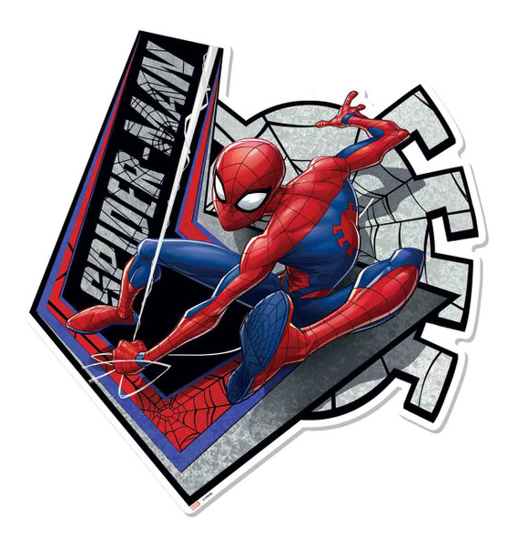 Spider-Man Webbed Wonder Wall Mounted Cardboard Cutout