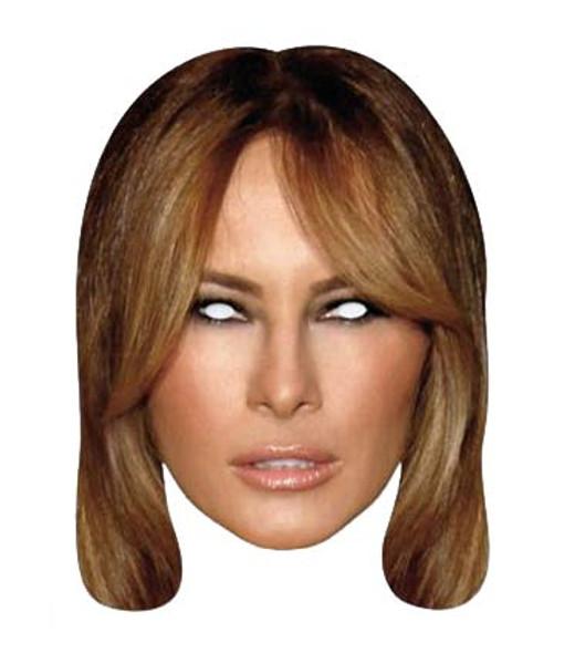 Melania Trump 2D Card Face Mask