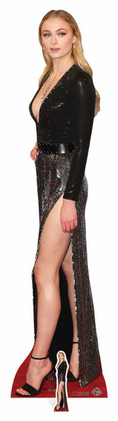 Sophie Turner Red Carpet Lifesize Cardboard Cutout