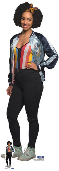 Bill Potts from Doctor Who Cardboard Cutout / Standee / Standup