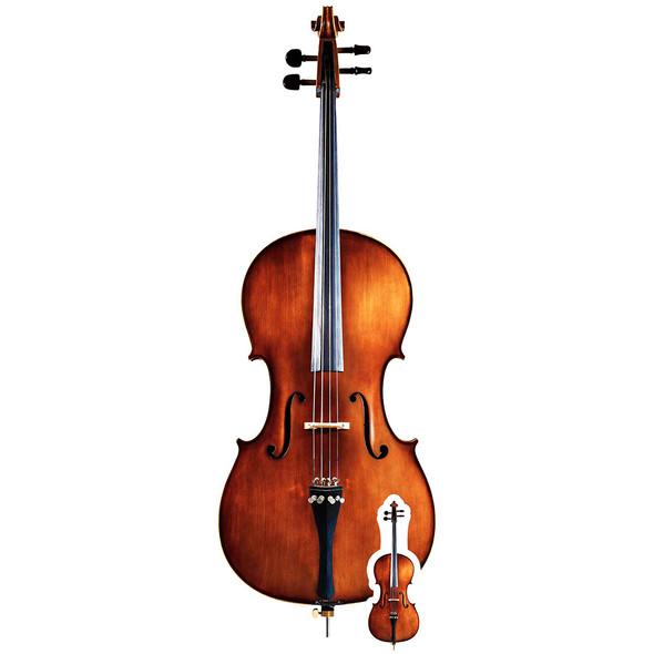 Cello Lifesize Cardboard Cutout