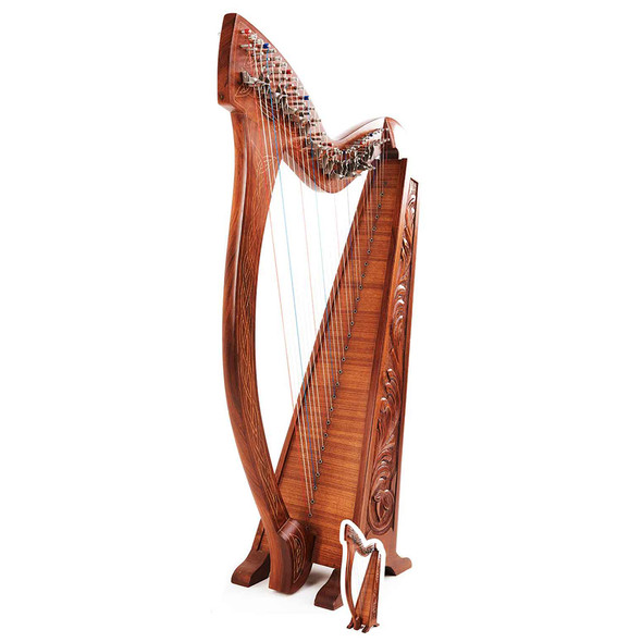 Harp Lifesize Cardboard Cutout