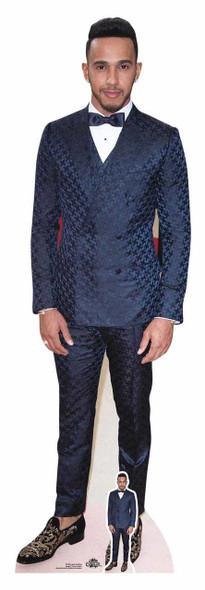 Life Size Cutout Blue Jumper Lewis Capaldi