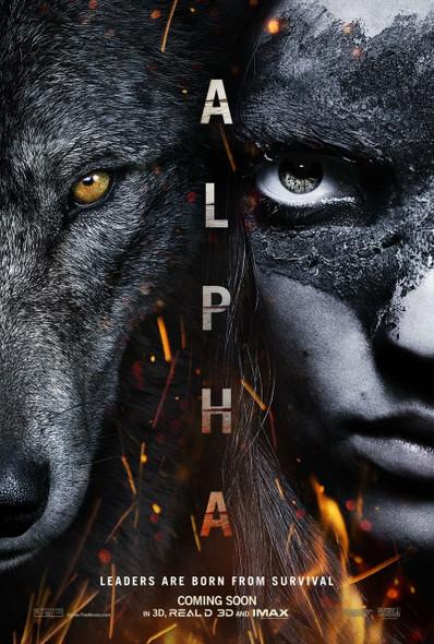 Alpha Original Movie Poster - Advance Style
