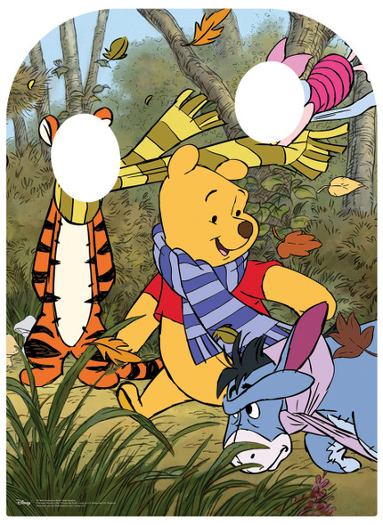 Winnie The Pooh and Friends Child Size Stand-in Cutout