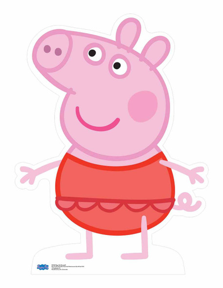 Peppa Pig wearing swimsuit Cardboard Cutout
