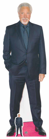 Tom Jones Lifesize Cardboard Cutout