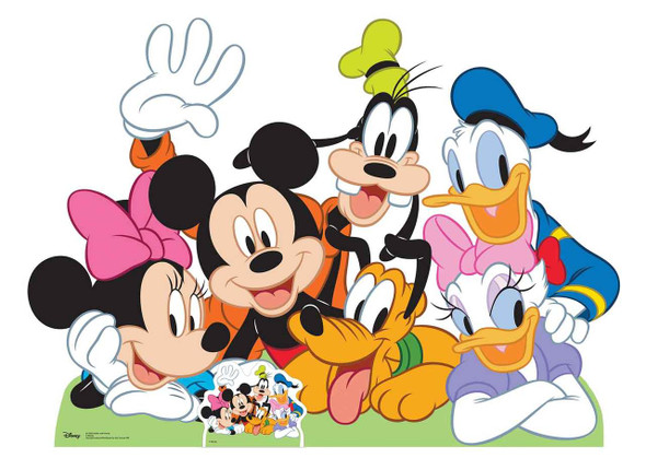 Mickey Mouse and Friends Lifesize Cardboard Cutout
