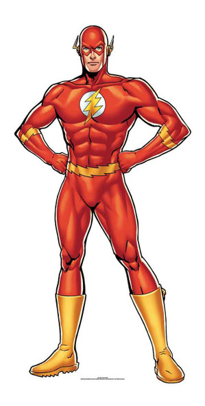 The Flash DC Comics mini Cardboard Cutout