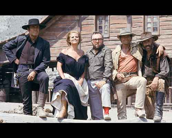 Once Upon a Time In The West Cast Movie Photo