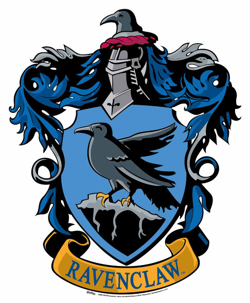 Ravenclaw Crest from Harry Potter Wall Mounted Official Cardboard Cutout