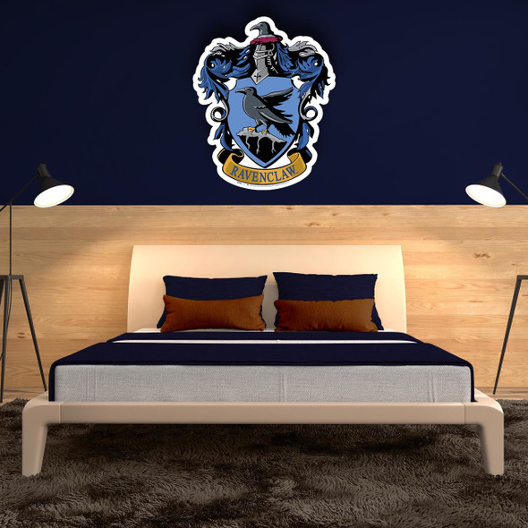Ravenclaw Crest from Harry Potter Wall Cardboard Cutout in situ
