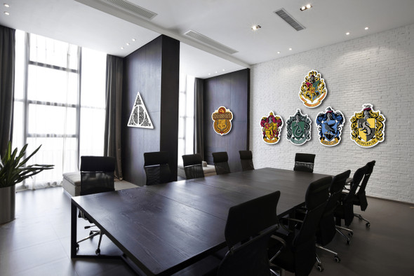 Harry Potter 3D Style Wall Art  Cardboard Cutouts in situ