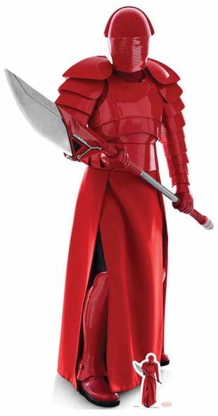 Praetorian Guard with Spear The Last Jedi Lifesize Cardboard Cutout