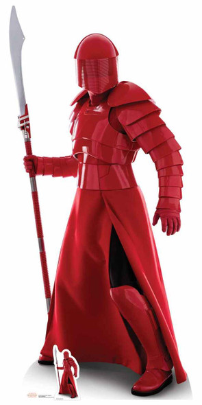 Praetorian Guard with Naginata The Last Jedi Lifesize Cardboard Cutout