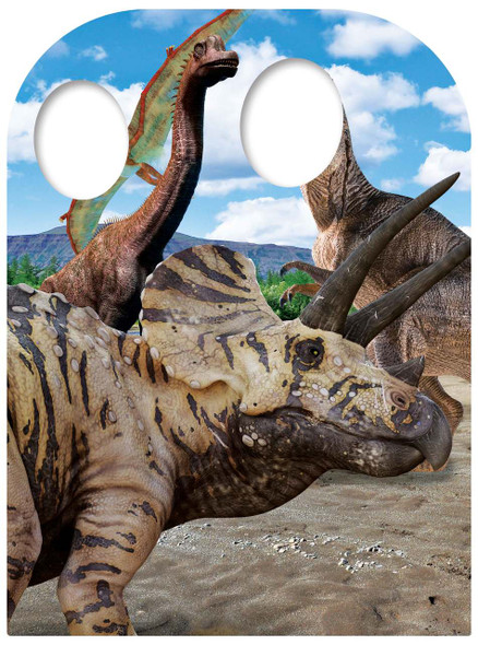 Dinosaur Child Size Stand In Cardboard Cutout / Standee