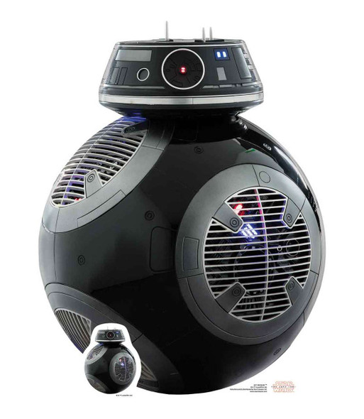 BB-9E Droid Star Wars The Last Jedi Lifesize Cardboard Cutout