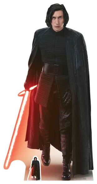 Kylo Ren Star Wars The Last Jedi Lifesize Cardboard Cutout