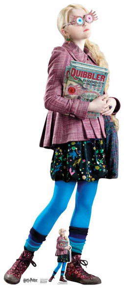 Luna Lovegood from Harry Potter Lifesize Cardboard Cutout / Standee