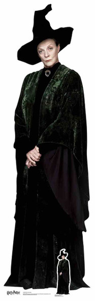 Professor McGonagall from Harry Potter Lifesize Cardboard Cutout