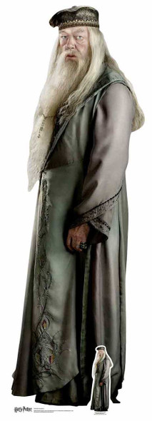 Professor Albus Dumbledore from Harry Potter Lifesize Cardboard Cutout