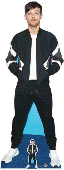Louis Tomlinson Bomber Jacket Style Lifesize Cardboard Cutout