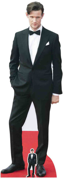 Matt Smith Red Carpet Lifesize Cardboard Cutout / Standee