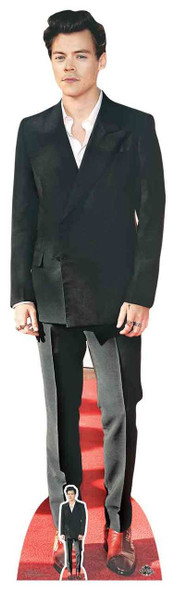 Harry Styes Red Shoes Lifesize Cardboard Cutout / Standee