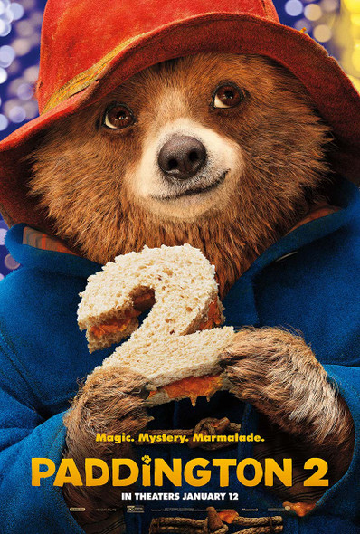 Paddington 2 Original Movie Poster - Double Sided Advance Style