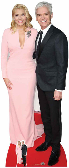 Holly Willoughby and Phillip Schofield Lifesize Cardboard Cutout
