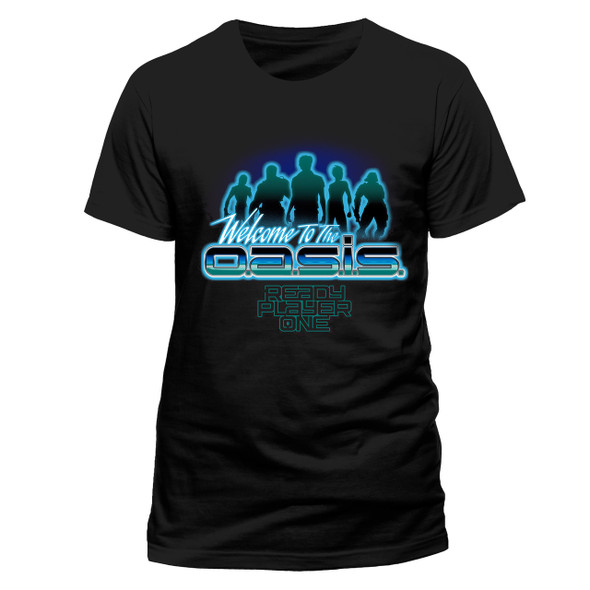 Ready Player One Oasis Official Black Unisex T-Shirt