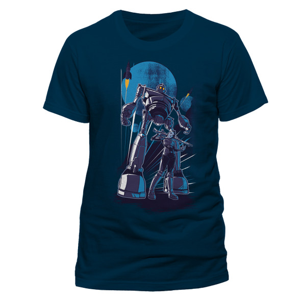 Ready Player One Iron Giant Official Blue Unisex T-Shirt