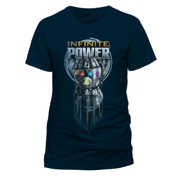 Avengers: Infinity War Infinite Power Glove Blue Unisex T-Shirt