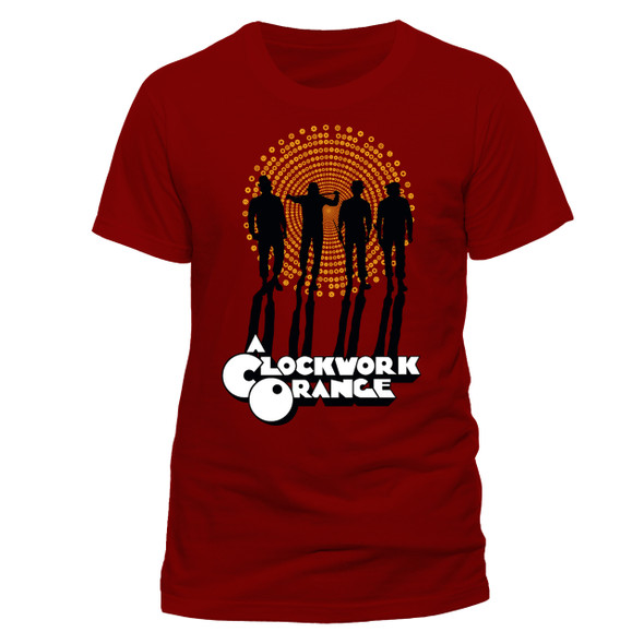 A Clockwork Orange Gang Style Official Unisex Red T-Shirt