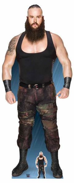 Braun Strowman WWE Lifesize Cardboard Cutout