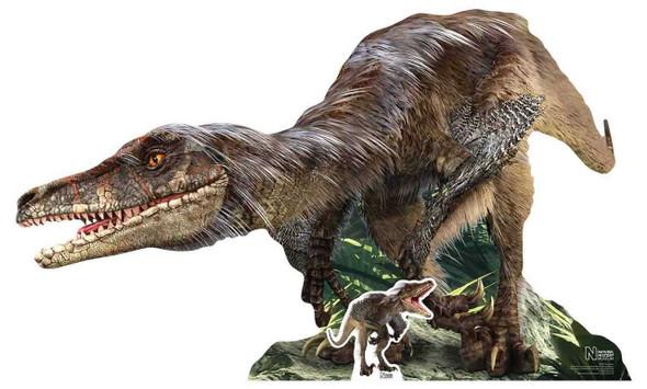 Velociraptor Dinosaur Natural History Museum Cardboard Cutout
