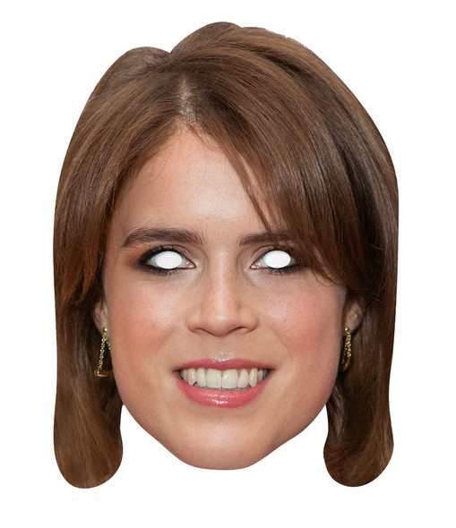 Princess Eugenie 2D Card Party Face Mask