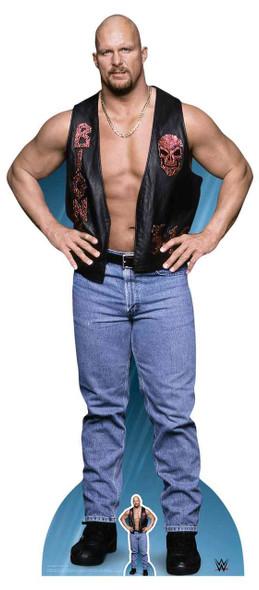 Stone Cold Steve Austin WWE Lifesize Cardboard Cutout / Standup