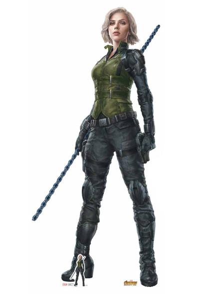 Official Black Widow Avengers Infinity War Lifesize Cardboard Cutout