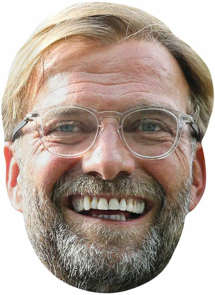 Jurgen Klopp 2D Single Card Face Mask