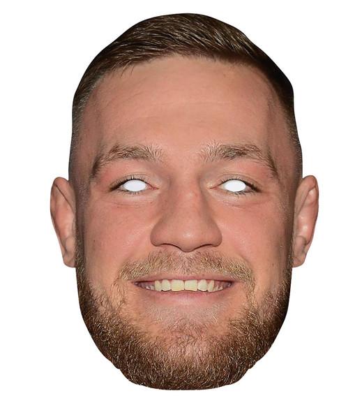 Conor McGregor 2D Single Card Party Face Mask