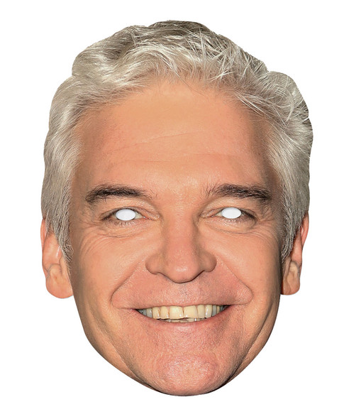 Phillip Schofield 2D Single Card Party Face Mask