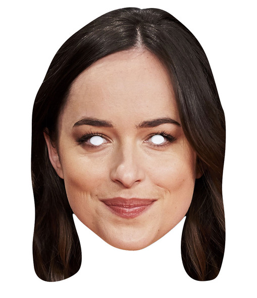 Dakota Johnson 2D Single Card Party Face Mask
