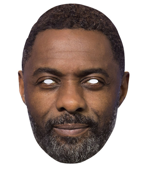 Idris Elba 2D Single Card Party Face Mask