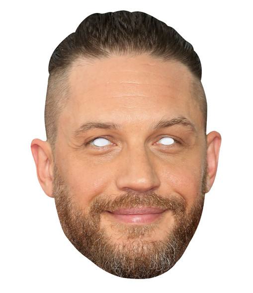 Tom Hardy 2D Single Card Party Face Mask